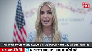 'Productive discussion' with 'critical ally': Ivanka sums up Modi-Trump meet