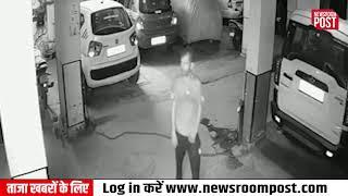 Delhi के Khanpur इलाके के नरायण अपार्टमेंट में पार्किंग से बाइक का ताला तोड़ बाइक ले उड़ा चोरomPost