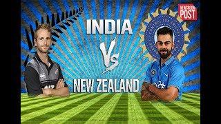 India vs New Zealand, 1st Semi-Final (1 v 4) - Live Cricket Score, Commentary