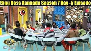 Bigg Boss Kannada Season 7 Day-5 Full Episode || Bigg Boss Kannada S7