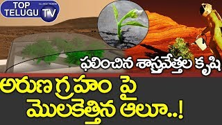 Chance of Growing Crops on Mars along With Moon | Chandrayan 2 Mission | MOM Mission | Top Telugu TV