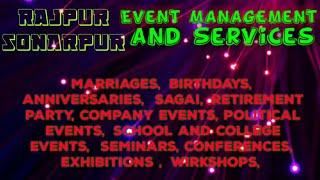 RAJPUR  SONARPUR   Event Management   Catering Services   Stage Decoration Ideas   Wedding  