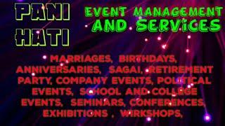 PANIHATI    Event Management   Catering Services   Stage Decoration Ideas   Wedding arrangements  