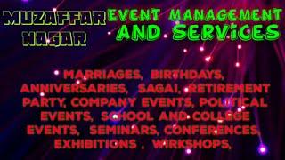 MUZAFFARNAGAR   Event Management   Catering Services   Stage Decoration Ideas   Wedding   