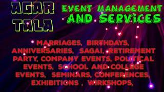 AGARTALA    Event Management   Catering Services   Stage Decoration Ideas   Wedding arrangements  