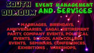 SOUTH DUMDUM Event Management   Catering Services   Stage Decoration Ideas   Wedding arrangements  