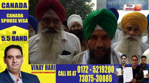Manjit Singh Dhaner और Baldev Singh Sirsa की रिहाई के लिए किसानों का संघर्ष जारी