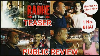 Radhe Teaser PUBLIC REVIEW And Reaction, People Gone Crazy After Watching Salman Shirtless Avatar