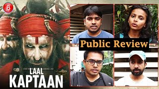 Laal Kaptaan Public Review | First Day First Show | Saif Ali Khan | Navdeep Singh
