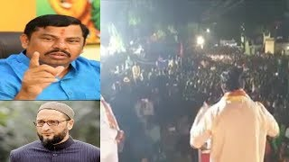 Raja Singh Firing Speech At Solapur On The Kashmir Issue | AIMIM VS Shiv Sena | @ SACH NEWS |