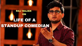 Life of a Comedian | Standup Comedy by  Raj Najan | Cafe Marathi Comedy Champ 2019
