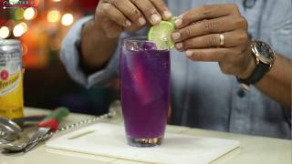 How to make Gin & Tonic In Hindi | Butterfly pea Infused Gin & Tonic | G&T | Cocktails India