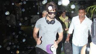 Shahid Kapoor Spotted At Antigravity Gym Pali Hill Bandra