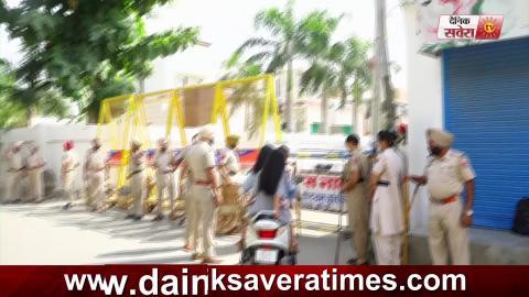 Exclusive: Bathinda Civil Line Club विवाद को लेकर बड़ी गिनती में Police तैनात