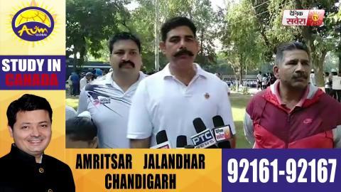 Gurdaspur में Punjab Police ने शहीद जवानों की याद में करवाई 'Mini Marathon'