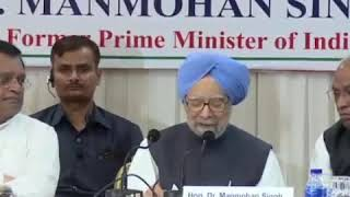 Former PM Dr. Manmohan Singh on Vendetta Politics