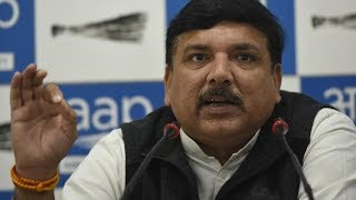 Press Conference of Senior Leader & Rajyasabha Sanjay Singh