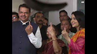 Maharashtra Assembly polls: Voting is integral part of democracy, says CM Fadnavis