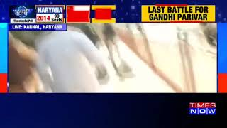 Watch: Haryana CM Manohar Lal Khattar rides cycle to polling booth