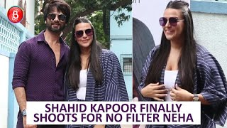 Shahid Kapoor FINALLY Shoots For Neha Dhupia's No Filter Neha After 4 Years