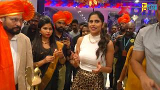Sai Tamhankar launched Max Fashion's new store at Elpro City Square, Pune
