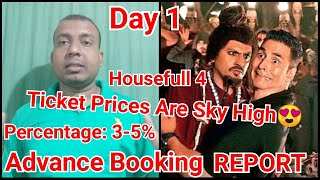 Housefull 4 Advance Booking Report Day 1