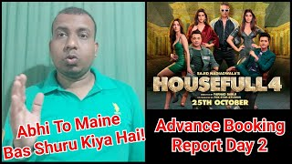Housefull 4 Advance Booking Report Day 2 In India