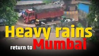 Mumbai rains: Red alert issued amid heavy rain warning
