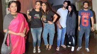 Saand Ki Aankh Movie Special Screening   Taapsee Pannu, Bhumi Pednekar,  Neha Dhupia