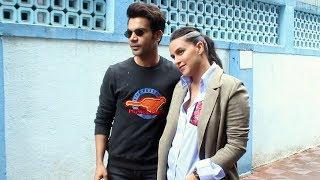 Rajkummar Rao & Neha Dhupia At The Recording Of No Filter Neha Season 4 In Khar
