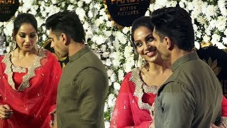 Cute Couple Bipasha & Karan Singh Grover At Anand Pandit Full Night Diwali Party 2019