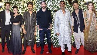 Hrithik Roshan, Ajay Devgn, Kartik Aaryan, Urvashi At Producer Anand Pandit Diwali Party