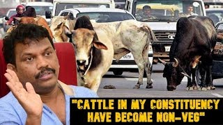 """Cattle In My Constituency Have Become Non-Veg"" - Lobo On Stray Cattle Menace"