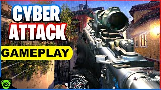 Call of Duty Modern Warfare: Cyber Attack Gameplay (No Commentary)