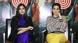 Interview With Taapsee Pannu And Bhumi Pednekar For Film Saand Ki Aankh