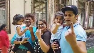 Bigg Boss 12 Fame Karanvir Bohra CASTS His Vote   Maharashtra Elections 2019