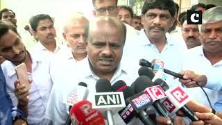 DK Shivakumar facing political vengeance, here to give him confidence: HD Kumaraswamy