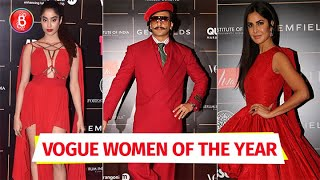 Janhvi Kapoor, Ranveer Singh, Katrina Kaif - Bollywood Celebs At Vogue Women Of The Year Awards