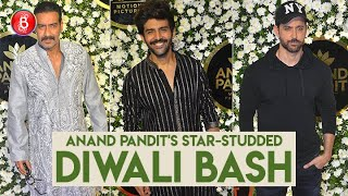 Kartik Aaryan, Ajay Devgn, Hrithik Roshan - The Who's Who Of Bollywood At Anand Pandit's Diwali Bash