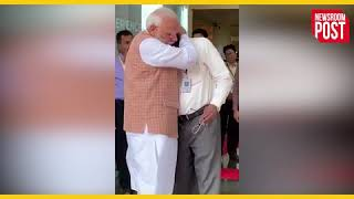 प्रधानमंत्री के संबोधन के बाद भावुक हुए इसरो चीफ, पीएम मोदी ने लगाया गले