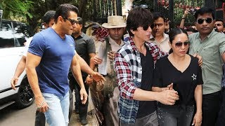 Salman Khan And Shahrukh Khan Casts Vote In Mumbai | Maharashtra Election 2019