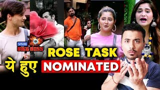 These Contestants Are NOMINATED | ROSE TASK | Bigg Boss 13 Latest Update