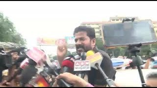MP Revanth Got Arrested In RTC Protest | Revanth Reddy Speaks To Media | @ SACH NEWS |