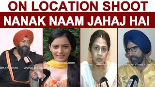 On Location Shoot: Nanak Naam Jahaz Hai | Vindu Dara Singh | Mukesh Rishi | Dolly Minhas