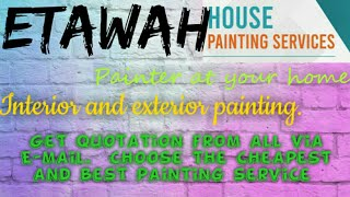 ETAWAH    HOUSE PAINTING SERVICES ~ Painter at your home ~near me ~ Tips ~INTERIOR & EXTERIOR 1280x7