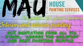MAU    HOUSE PAINTING SERVICES ~ Painter at your home ~near me ~ Tips ~INTERIOR & EXTERIOR 1280x720