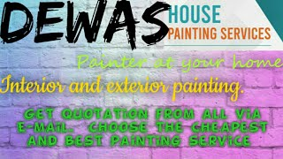 DEWAS   HOUSE PAINTING SERVICES ~ Painter at your home ~near me ~ Tips ~INTERIOR & EXTERIOR 1280x720