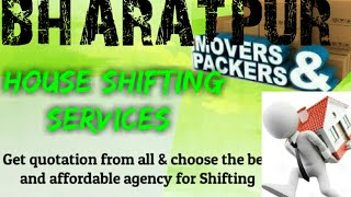 BHARATPUR     Packers & Movers ~House Shifting Services ~ Safe and Secure Service ~near me 1280x720