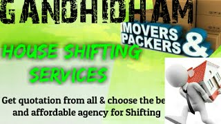 GANDHIDHAM     Packers & Movers ~House Shifting Services ~ Safe and Secure Service ~near me 1280x72