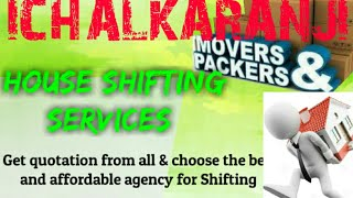 ICHALKARANJI    Packers & Movers ~House Shifting Services ~ Safe and Secure Service  ~near me 1280x7